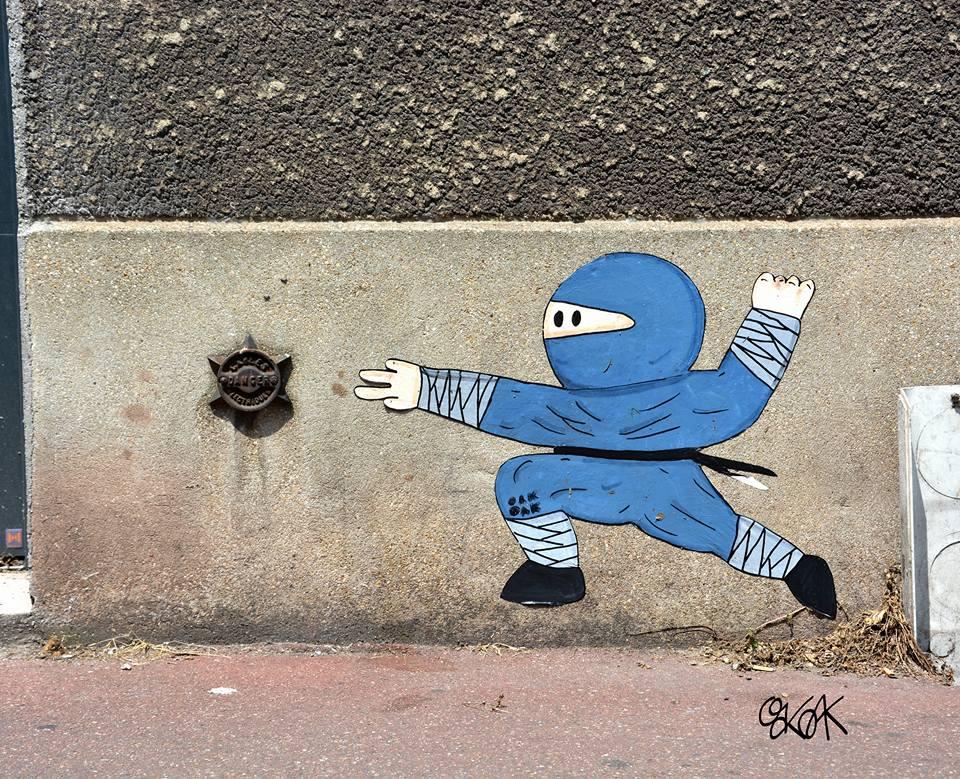 street-art-by-oakoak-ninja-warrior