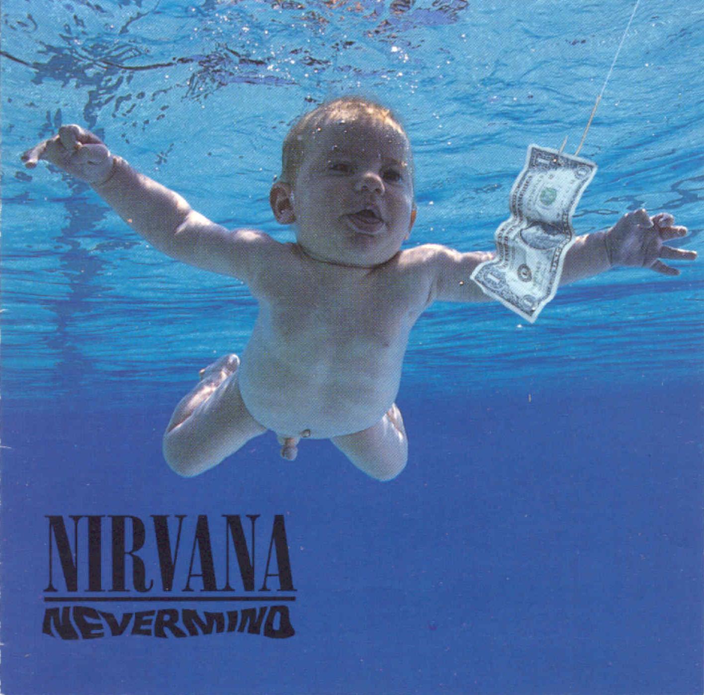 La portada de 'Nevermind'