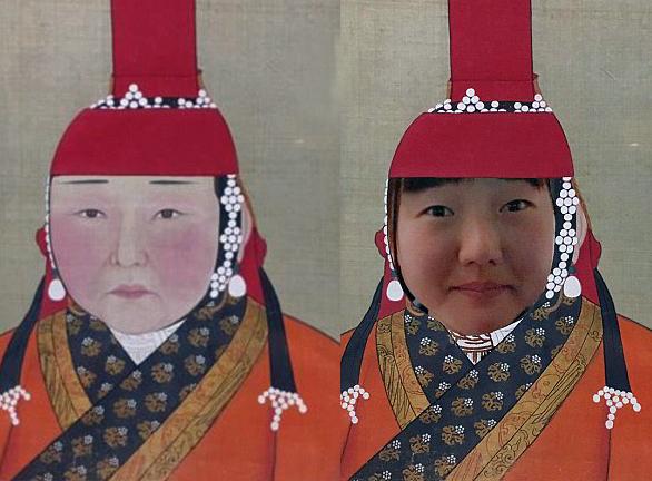 Yuki y la princesa mongola, dos gotas de agua